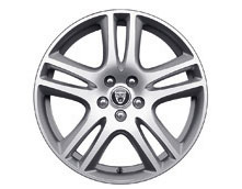 Alloy Wheel - Single - Aruba Performance - 18 x 7.5 - C2S35341 - Genuine Jaguar