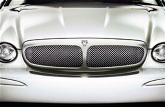 Upper Mesh Grille - Bright Finish - C2S36364 - Genuine Jaguar