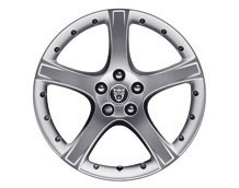 Alloy Wheel - Single - Proteus - 18 x 7.5 - C2S37477 - Genuine Jaguar