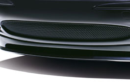 Lower Mesh Grille - Black Finish - C2S38966 - Genuine Jaguar