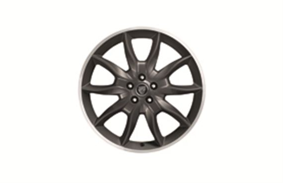 Alloy Wheel - Single - Draco Dark Grey 20 inch - C2Z16351 - Genuine Jaguar