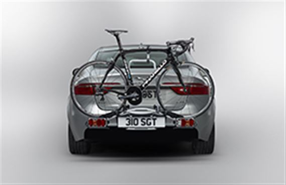 Tow Bar 3 Bike Carrier - RHD - C2Z22696 - Genuine Jaguar