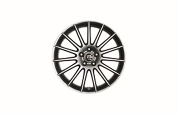 Alloy Wheel - Single - Libra 17 inch - C2Z4105 - Genuine Jaguar