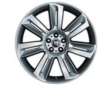 Front Alloy Wheel - Single - Nevis 20 x 8.5 - C2Z4429 - Genuine Jaguar