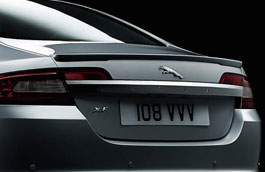 Boot Lid Spoiler - Primed - C2Z5623XXX - Genuine Jaguar
