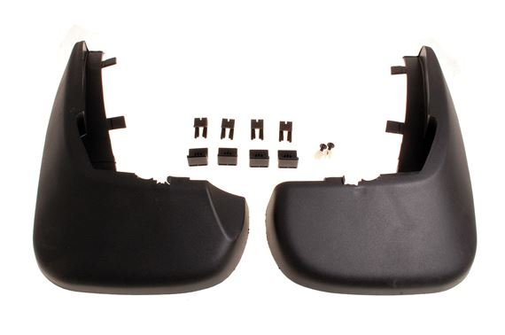 Mudflaps-kit rear - Black - Genuine MG Rover