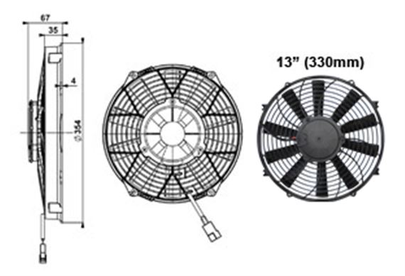 Comex High Power Fan - 330mm (13 inches)