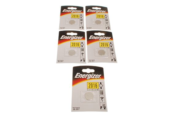 Energizer CR2016 3v Lithium Coin Batteries for Car Remote Controls