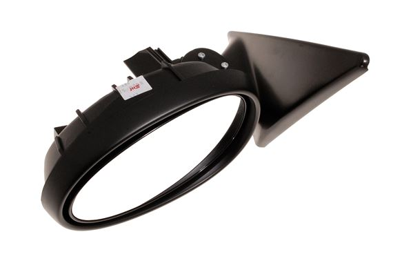 Mirror assembly-electric control less cover exterior - LH, with power folding, convex, passenger side - CRB110760 - Genuine MG Rover