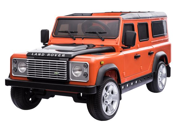 Ride On Defender - Orange - Britpart