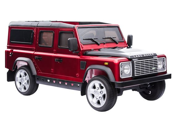 Ride On Defender - Red - Britpart