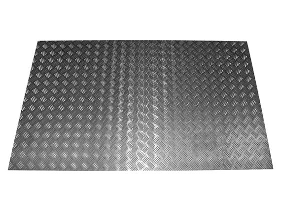 Chequer Load Area Floor - 2mm Aluminium - STC61840P - Aftermarket