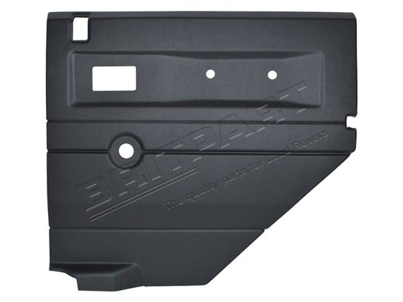 Door Casing Rear Manual Window RH Black - LL1416BLACKREAR - Aftermarket