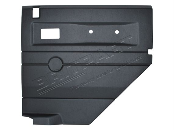 Door Casing Rear Electric Window RH Black - LL1416BLACKREARE