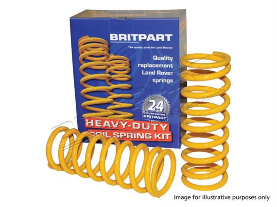 Coil Springs Uprated (pair) - RA1350RBP25zz2 - Britpart