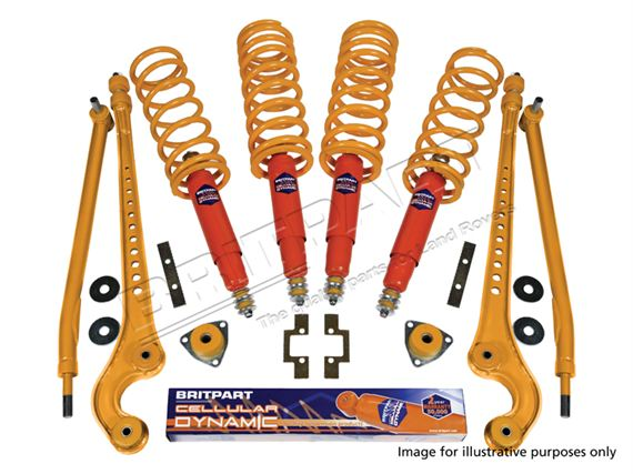 Full Suspension Kit - LL1493BPCEL125 - Britpart