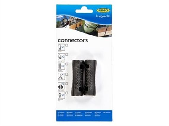 Load Securing System Straight Connectors (twin pack) - RX1743STRAIGHT - Bungeeclic