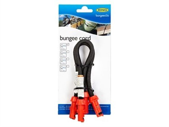 Load Securing System Bungee Cord 30-45cm (twin pack) - RX174530 - Bungeeclic