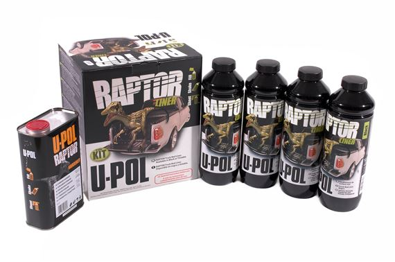Britpart Raptor Protective Coating Products