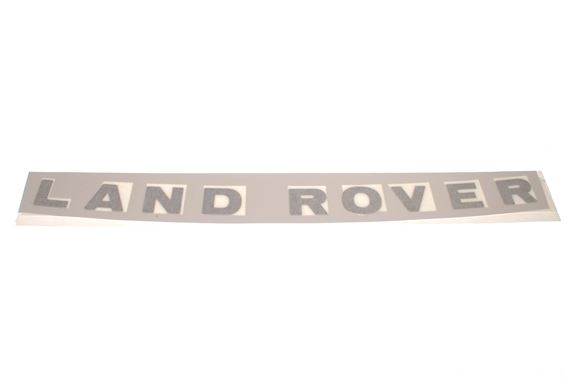 Bonnet Decal - Land Rover - Silver - DAG100270MAD - Genuine