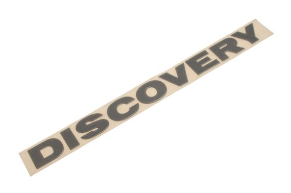 Rear Badge - Discovery Silver - Genuine Land Rover