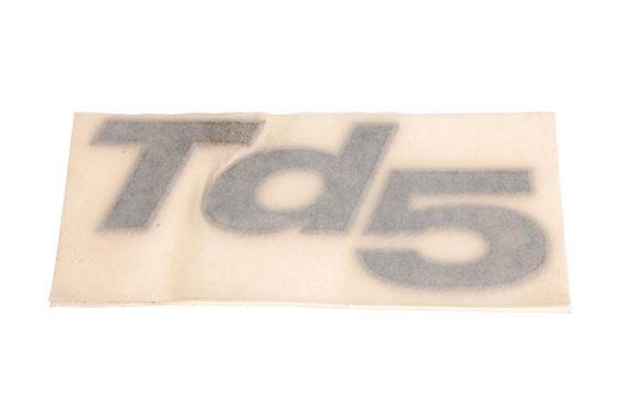 TD5 Badge - Silver - Genuine Land Rover