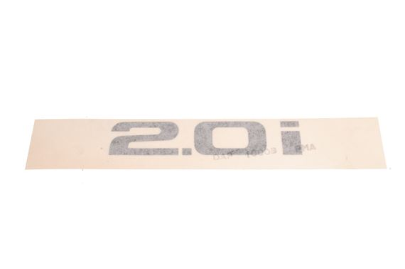 Decal - 2.0i - Black - DAP10008PMA - Genuine MG Rover