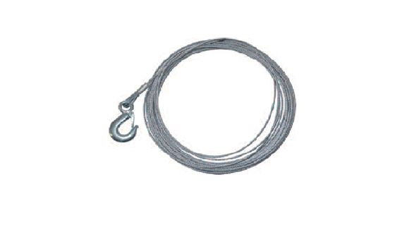 Winch Cable with Hook (15.2mtr x 4mm) - LL1437BP2000CAB - Britpart