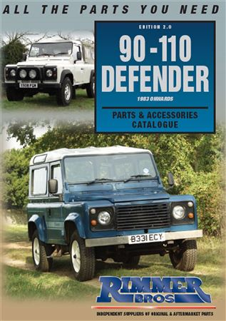 Rimmer Bros 90-110-130-Defender Catalogue Edition 2.0 - DEFENDER CAT TO 06