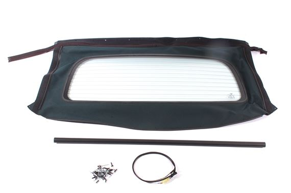 Rear Window Assembly - Heated Glass - Green Material - DSD000030HZPP - OEM