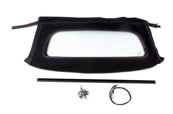 Rear Window Assembly - Heated Glass - Black Material - DSD000030PMAP - OEM