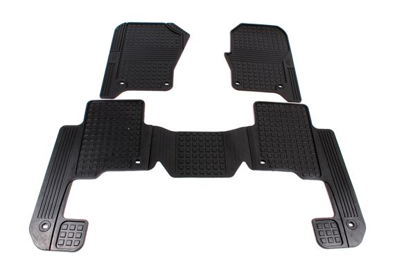 Discovery 3 Rubber Footwell Mats