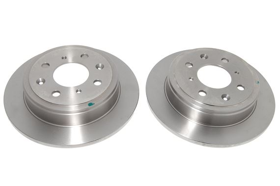 Rear Brake Discs - Solid Pair - MG/Rover Various Applications - EGP1254BREMBO - Brembo