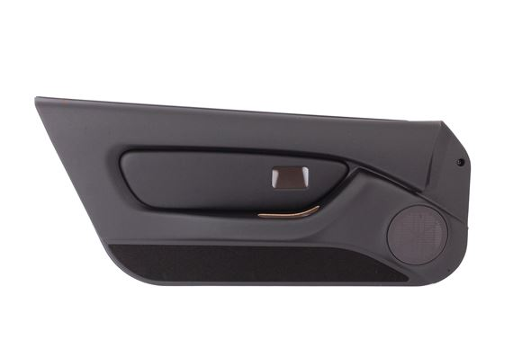 Door Trim Panel - Black Ash Panel with Leather Pod - LH - EJB119390PMV - Genuine MG Rover