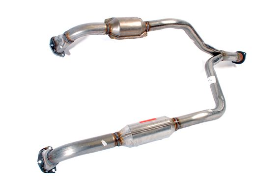 Exhaust Down Pipe with Catalyst - ESR3060P - Aftermarket