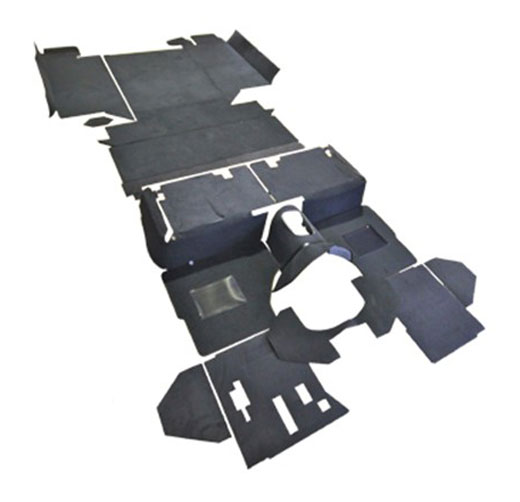 Exmoor Trim - Defender - 110 Inch County LT77 Full and Part Vehicle Carpet Sets