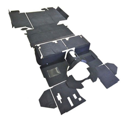 Exmoor Trim - Defender - 110 Inch County R380 Full & Part Vehicle Carpet Sets