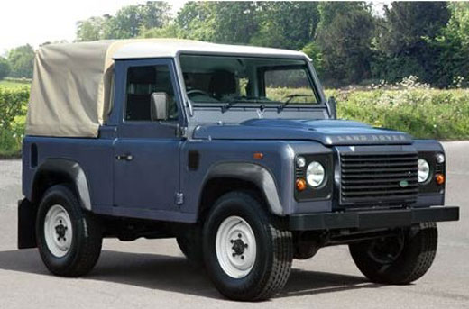 Exmoor Trim - Defender - 90 Inch 3/4 Cab Fit Hood - Canvas - Sand