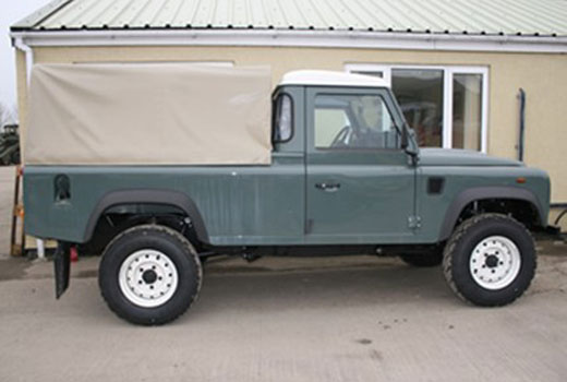 Exmoor Trim - Defender - 110 Inch 3/4 Cab Fit Canvas Hoods