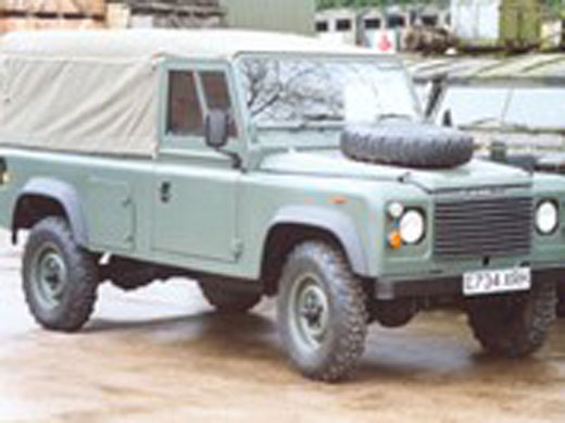 Exmoor Trim - Defender - 110 Inch Full Canvas Hoods
