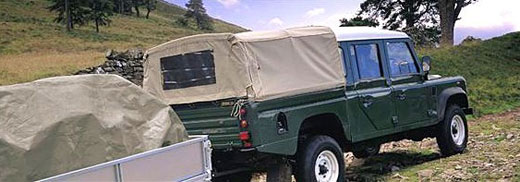 Exmoor Trim - Defender - 110 Inch High Capicity Canvas Hoods