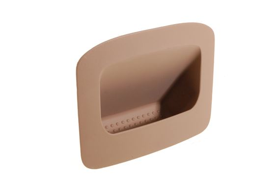 Bin assembly-tunnel console stowage - Sandstone Beige - FHM000110SCD - Genuine MG Rover