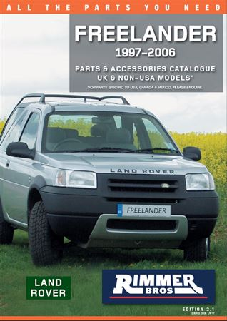 Rimmer Bros Freelander Catalogue (1997-2006) 204 Pages