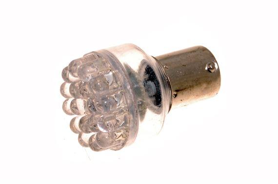 classic 382 24 led indicator bulb 12v 21w ba15s scc amber rimmer bros. Black Bedroom Furniture Sets. Home Design Ideas