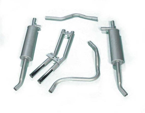 Triumph Stag Exhaust Systems - Part System - Mild Steel