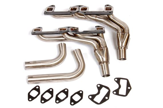 Triumph Stag Sports 4 Branch Tubular Exhaust Manifolds - Stainless Steel Sports Manifolds