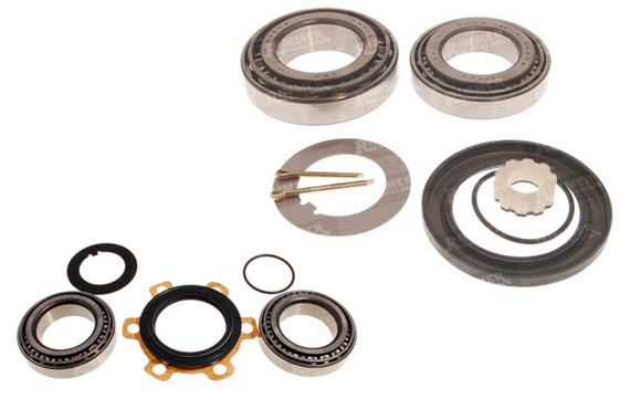 Series 2 and 3 Wheel Bearings