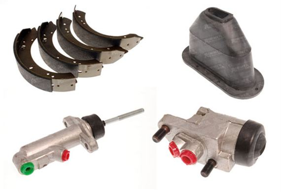 Series 2 and 3 Brake System