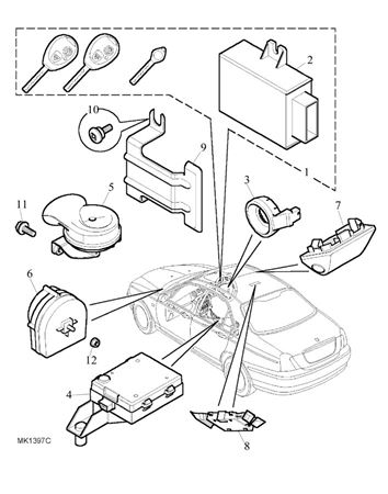 Rover 75 Central Locking Wiring Diagram
