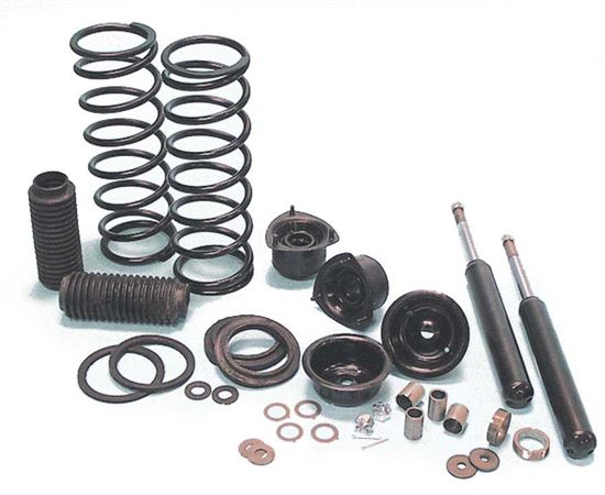 Triumph Stag Suspension Packs - Road Springs, Front Insert and Rear Shock Absorber Pack